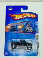 2004 Hot Wheels 2004 First Editions 60/100 Hummer H3T Collector #060 NIP