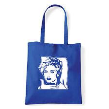 Art T-shirt, Borsa shoulder Like a Virgin, Blu, Shopper, Mare