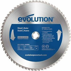 Steel Cutting Saw Blade Carbide 14 In Power Tools Electrical Chop Metal Circular