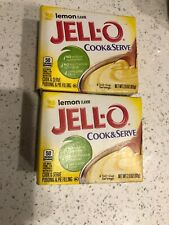 Jell-O Lemon Cook & Serve Pudding and Pie Filling