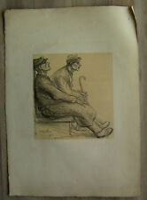 Théophile Alexandre Steinlen lithographie originale 1915 WW1 militaria