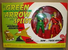 DC DIRECT DELUXE ACTION FIGURE SET THE SILVER AGE GREEN ARROW AND SPEEDY 2001