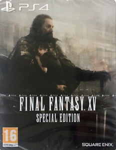 Final Fantasy XV Day One Edition Steelbook  PS4  IMPORT