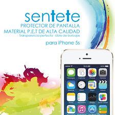 Láminas Protector de Pantalla Iphone 5s (frontales y traseras) - SENTETE-