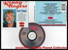 """KENNY ROGERS """"Love Songs"""" (CD) 1988"""