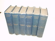 Lot of 6 Vintage Books-1902- Thackeray's Complete Works - John Lovell