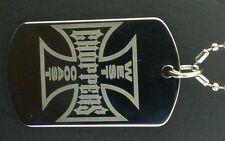 West Coast Choppers Dog tag Pendant Necklace