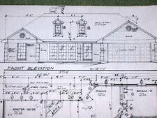 Custom Home Plan 3 Bed 2 Bath 1 Story 2 Car Garage 1441 A/C Sq. Ft 2172 Total