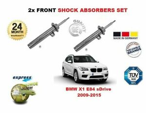 FOR BMW X1 E84 2009-2015 FRONT LEFT + RIGHT SHOCK SHOCKER ABSORBER SET