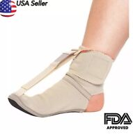 New Plantar Fasciitis Night Splint foot pain Relief brace Adjustable -AFT-007