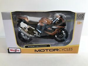 Maisto Miniature Moto Suzuki GSX R 1000 1/12 Die Cast metal New In Box
