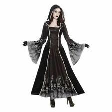 Ladies Halloween Gothic Bride Zombie Fancy Dress Costume