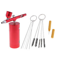 0.3mm Dual Action Gravity Feed Airbrush Spray Nail Art Paint Tattoo Tool Kit