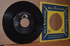 THE LOLLIPOPS: PEGGY GOT ENGAGED & I'LL SET MY LOVE TO MUSIC; RCA MINT- TEEN 45