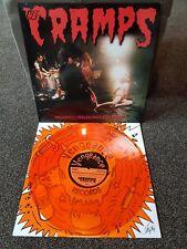 The Cramps vinyl LP Ramones Damned Stooges Clash New York Dolls Iggy Pop B-52s