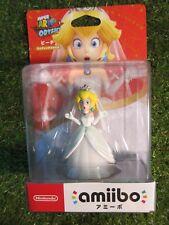 Nintendo Amiibo figure Mario odyssey Wedding Style Peach From Japan