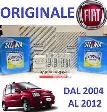 KIT TAGLIANDO + OLIO SELENIA + CANDELE FIAT PANDA 1.4 NATURAL POWER METANO