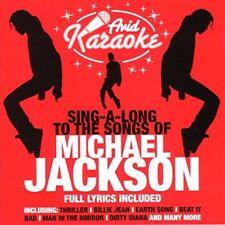 Michael Jackson Karaoke Inconnu Avid Records UK Various Artists CD Music