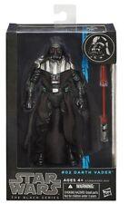 Hasbro Star Wars Black Series Darth Vader + LightSaber Action Figures Kids Toy