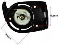 Seilzugstarter Starter Reversierstarter Motorsense Sense Heckenschere für GX 35