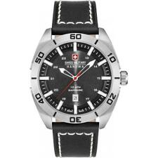Hanowa Swiss Military 6-4282.04.007 Gents Champ Black Strap Watch RRP £195.00
