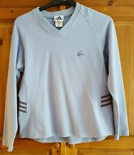 Adidas Ladies Sweatshirt Jumper Pale Blue.
