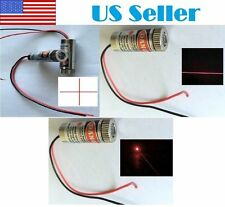 3 PCs Red Line+Cross+Dot Laser Module 5mW 650nm Focus Adjustable Laser Head