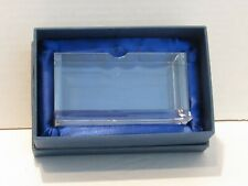 Crystal Glass Business Card Holder with Gift Box