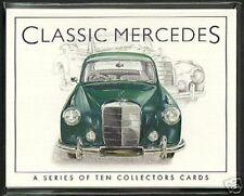 Mercedes Clásico Tarjetas Coleccionistas - 190 200 220 280 300 380 450 COUPE