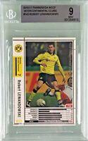 Robert Lewandowski 2010-11 Panini WCCF Intercontinental Clubs Rookie BGS 9 Mint