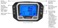 Acewell 3853 Speedometer Tacho Fuel Gauge Pilot Lights Speedo Motorbike or Car