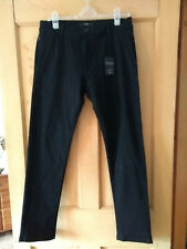Mens Black jeans/trousers from Next, BNWT, 34W Regular length, slim fit, stretch