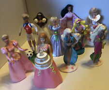10 Vintage 1990's Barbie McDonald's Happy Meal doll toys