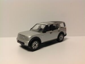 Corgi Toys LAND ROVER DISCOVERY III SUV Silver approximately 1:64 Diecast rare
