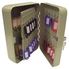 48 Key Steel Storage Cabinet Wall Mounted Safe Box
