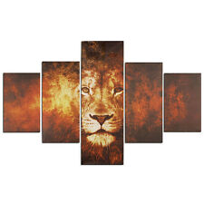 Animal Lion Head Canvas Print Art Painting Wall Picture Home Room Decor Unframed
