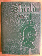 Oaklawn Illinois IL Community High School 1954 Annual Yearbook Shield Year Book