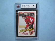 1981/82 TOPPS NHL HOCKEY CARD #75 DENIS SAVARD ROOKIE KSA 10 GEM MINT SHARP+