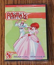Ranma 1/2: Martial Mayhem Season 5 Disc 4 (DVD, 2003) Eps.16-20 BRAND NEW