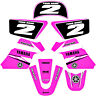 YAMAHA PW 50 PW50  GRAPHICS KIT DECALS DECO Fits Years 1990 - 2018 Pink