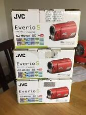 BRAND New IN OPEN BOX JVC Everio S GZ-MS100 GZ-MS100RU RED  UPC 046838036873