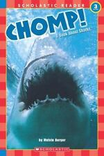 Chomp! A Book About Sharks (level 3) (Scholastic Reader)