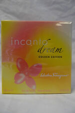 INCANTO DREAM GOLDEN EDITION SALVATORRE FERRAGAMO 3.4OZ / 100 ML EDT WOMEN NIB