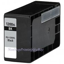 New Hi-Yield BK Ink For Canon PGI-1200 XL PGI1200 XL MAXIFY MB2020 MAXIFY MB2320