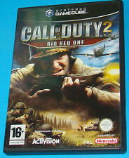 Call of Duty 2 - Big Red One - GameCube GC - PAL