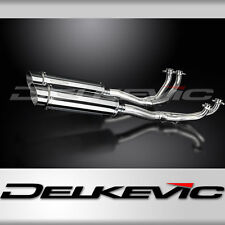 HONDA GL1100 GOLDWING 80-83 FULL 4-2 EXHAUST 350mm STAINLESS BSAU ROAD SILENCERS