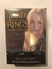 EOWYN starter deck SHADOWS Lord of the Rings CCG TCG DECIPHER