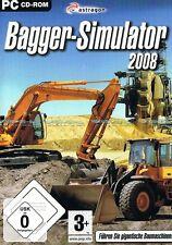 Bagger Simulator 2008 für Pc Neu/Ovp
