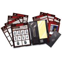 4M Kidzlabs Fingerprint Kit - Forensic Finger print Lab Crime Scene Spy Toy