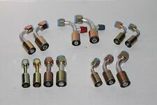 AIR CONDITIONING HOSE FITTING KIT O RING BUILD YOUR OWN LINES GENERAL USE